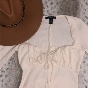 Creme bodysuit